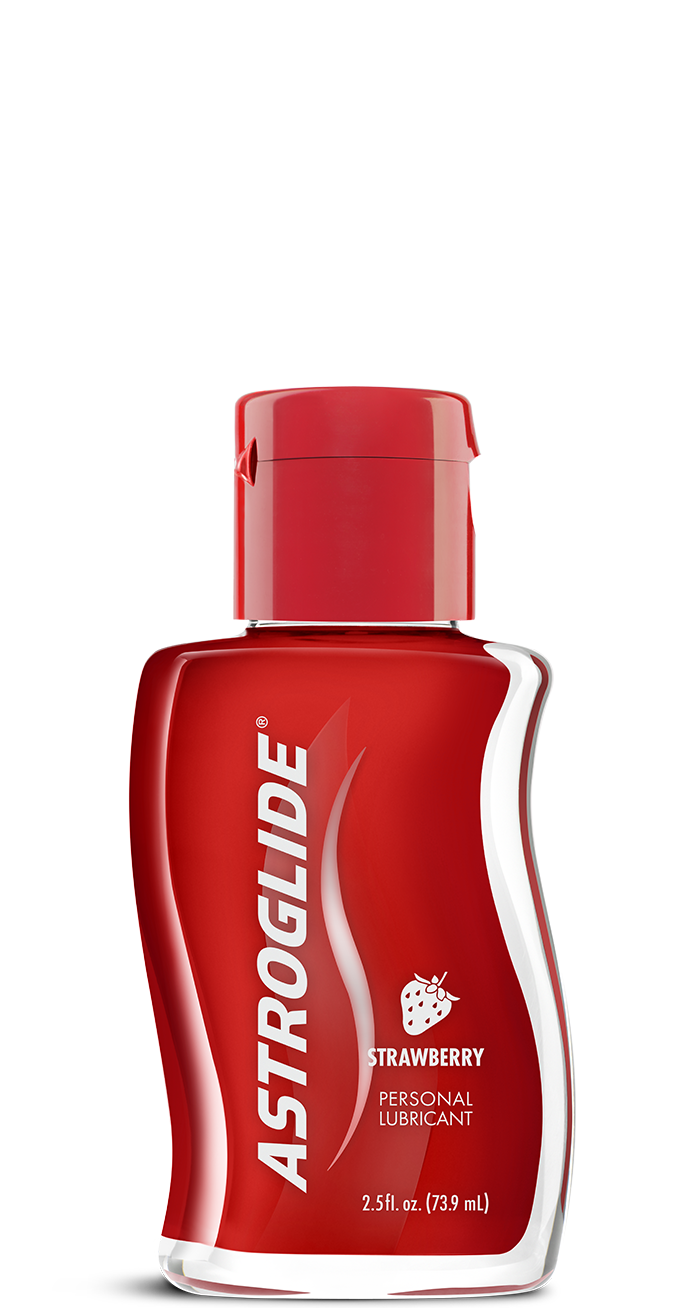 Astroglide<br/>Strawberry Liquid image